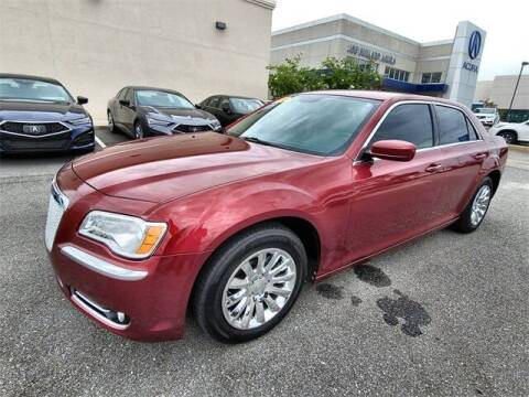 2014 Chrysler 300 for sale at JOE BULLARD USED CARS in Mobile AL