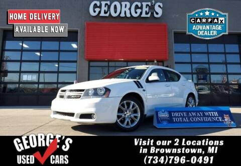 2014 Dodge Avenger for sale at George's Used Cars - Pennsylvania & Allen in Brownstown MI