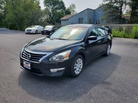 2013 Nissan Altima for sale at Excellent Autos in Amsterdam NY
