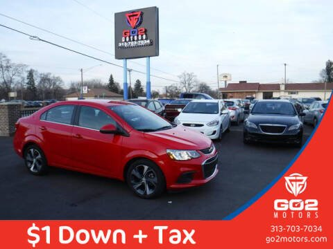 2019 Chevrolet Sonic for sale at Go2Motors in Redford MI