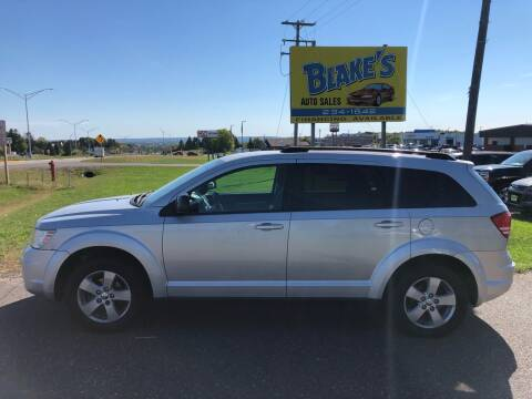2010 Dodge Journey for sale at Blake's Auto Sales in Rice Lake WI