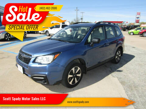2017 Subaru Forester for sale at Scott Spady Motor Sales LLC in Hastings NE