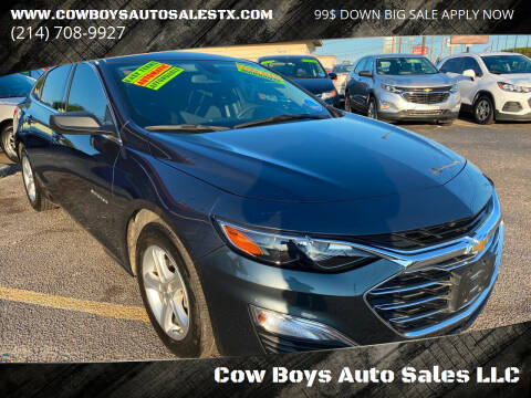 2019 Chevrolet Malibu for sale at Cow Boys Auto Sales LLC in Garland TX