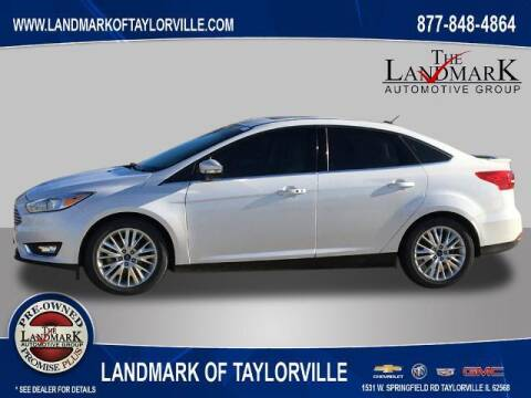 2018 Ford Focus for sale at LANDMARK OF TAYLORVILLE in Taylorville IL
