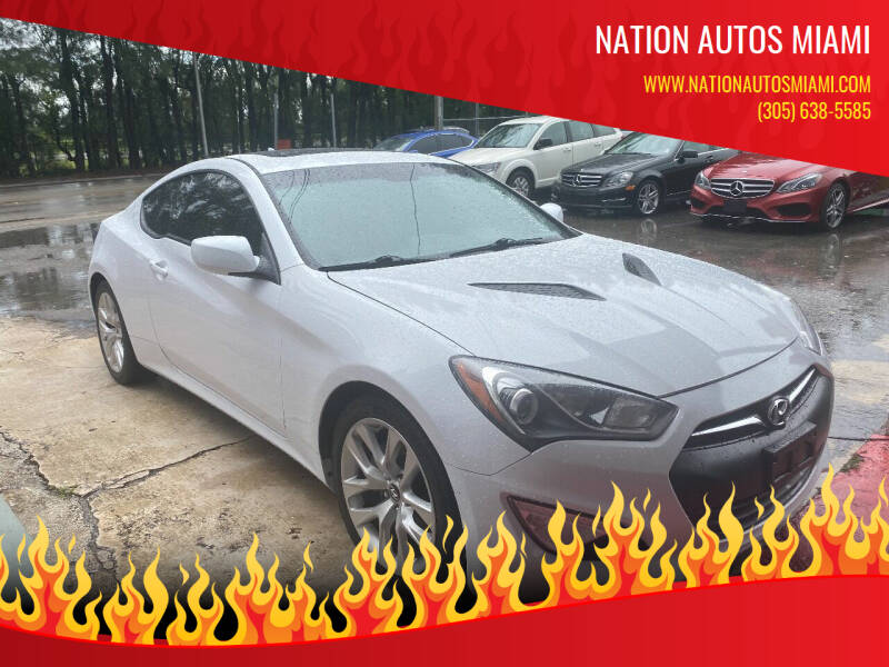 2014 Hyundai Genesis Coupe for sale at Nation Autos Miami in Hialeah FL