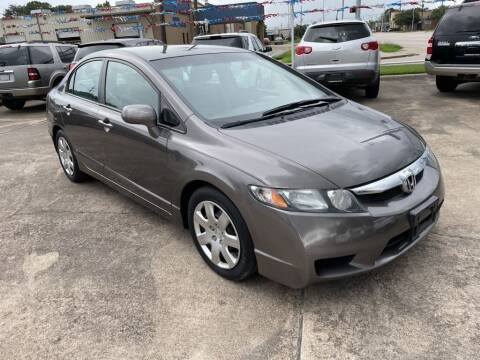 2010 Honda Civic for sale at AMERICAN AUTO COMPANY in Beaumont TX