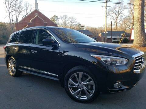 2014 Infiniti QX60 for sale at McAdenville Motors in Gastonia NC