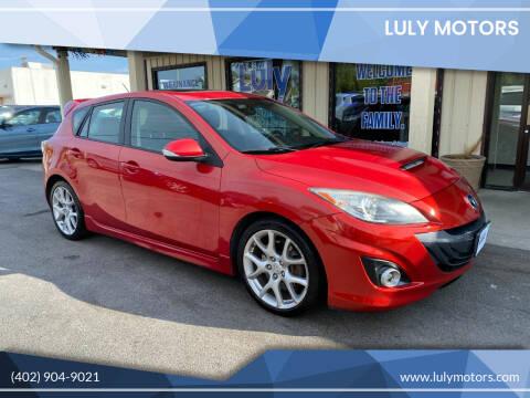 2011 Mazda MAZDASPEED3 for sale at Luly Motors in Lincoln NE