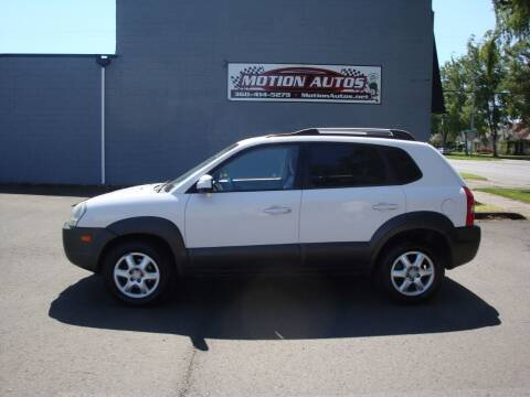 2005 Hyundai Tucson for sale at Motion Autos in Longview WA