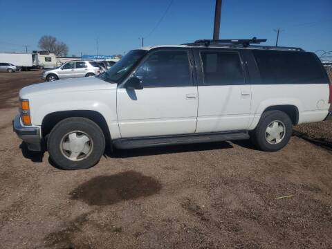 1996 Chevrolet Suburban for sale at PYRAMID MOTORS - Fountain Lot in Fountain CO