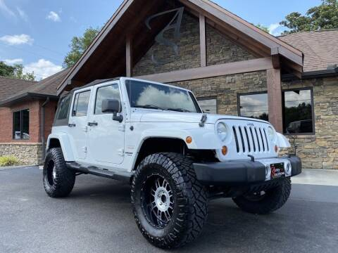 2012 Jeep Wrangler Unlimited for sale at Auto Solutions in Maryville TN