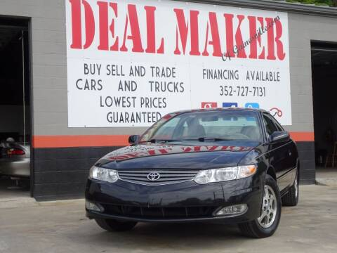 2003 Toyota Camry Solara for sale at Deal Maker of Gainesville in Gainesville FL