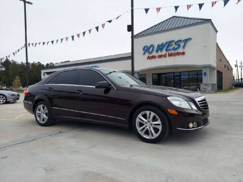 2011 Mercedes-Benz E-Class for sale at 90 West Auto & Marine Inc in Mobile AL