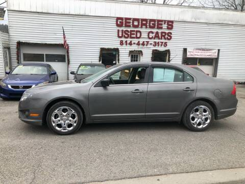 2010 Ford Fusion for sale at George's Used Cars Inc in Orbisonia PA