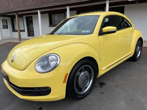 2012 Volkswagen Beetle for sale at Cash 4 Cars in Penndel PA