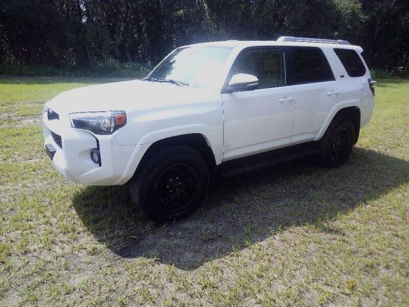 2017 Toyota 4Runner for sale at TIMBERLAND FORD in Perry FL