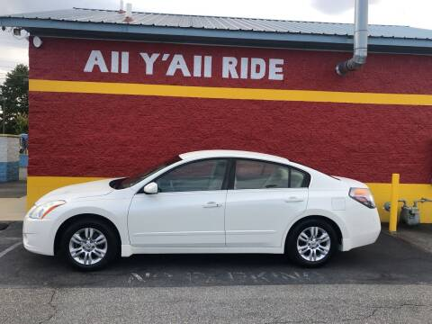 2010 Nissan Altima for sale at Big Daddy's Auto in Winston-Salem NC
