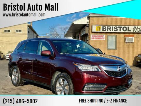 2014 Acura MDX for sale at Bristol Auto Mall in Levittown PA