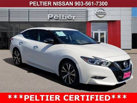 2018 Nissan Maxima for sale at TEX TYLER Autos Cars Trucks SUV Sales in Tyler TX