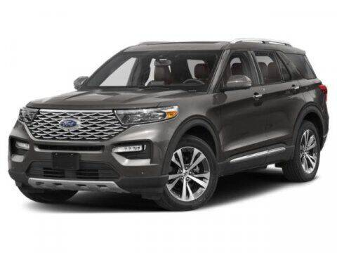 2021 Ford Explorer for sale at Hawk Ford of St. Charles in Saint Charles IL
