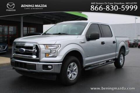 2017 Ford F-150 for sale at Bening Mazda in Cape Girardeau MO
