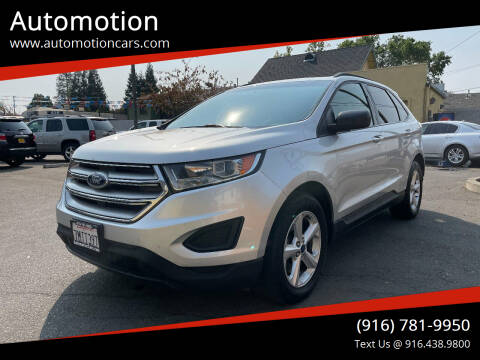 2015 Ford Edge for sale at Automotion in Roseville CA