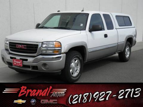 2005 GMC Sierra 1500 for sale at Brandl GM in Aitkin MN