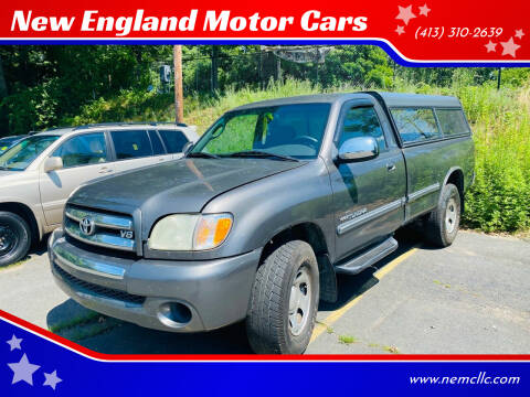 2003 Toyota Tundra for sale at New England Motor Cars in Springfield MA