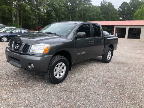 2005 Nissan Titan for sale at Joye & Company INC, in Augusta GA