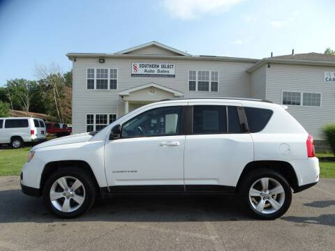 2013 Jeep Compass for sale at SOUTHERN SELECT AUTO SALES in Medina OH