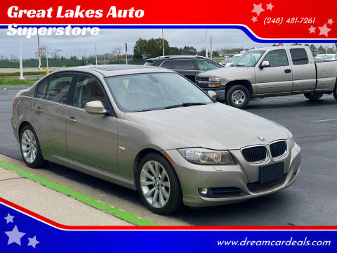 2011 BMW 3 Series for sale at Great Lakes Auto Superstore in Waterford Township MI