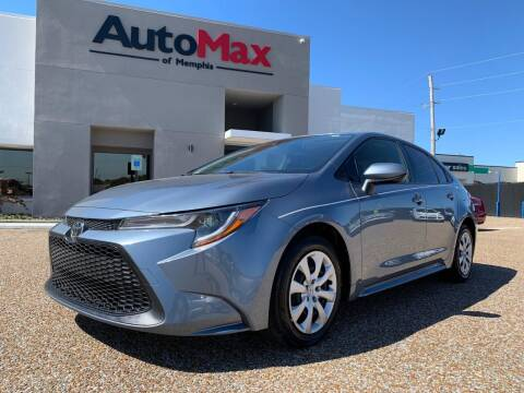 2020 Toyota Corolla for sale at AutoMax of Memphis - V Brothers in Memphis TN
