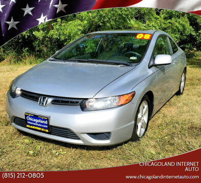 2008 Honda Civic for sale at Chicagoland Internet Auto - 410 N Vine St New Lenox IL, 60451 in New Lenox IL