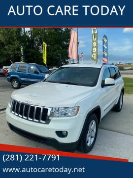 2011 Jeep Grand Cherokee for sale at AUTO CARE TODAY in Spring TX