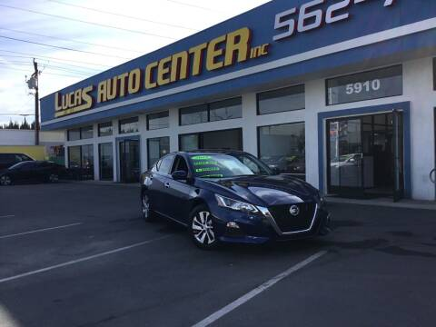 2019 Nissan Altima for sale at Lucas Auto Center in South Gate CA