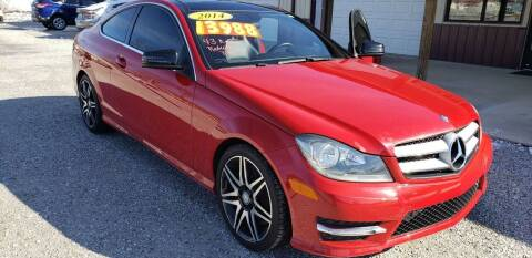 2014 Mercedes-Benz C-Class for sale at COOPER AUTO SALES in Oneida TN