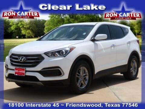 2017 Hyundai Santa Fe Sport for sale at Ron Carter  Clear Lake Used Cars in Houston TX