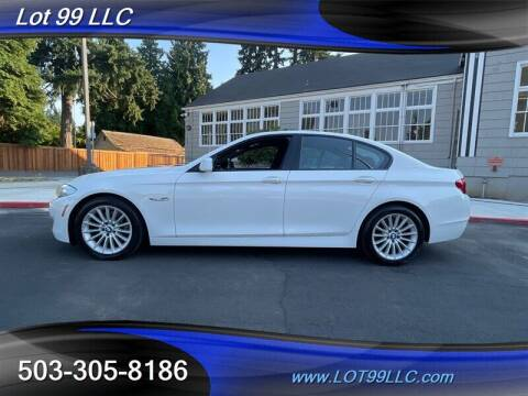 2013 BMW 5 Series for sale at LOT 99 LLC in Milwaukie OR