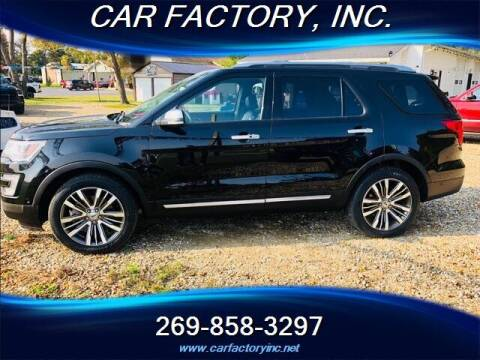 2017 Ford Explorer for sale at Car Factory Inc. in Three Rivers MI