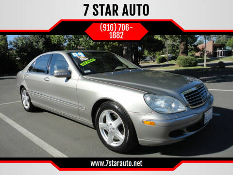 2004 Mercedes-Benz S-Class for sale at 7 STAR AUTO in Sacramento CA