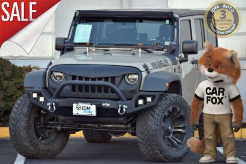 2017 Jeep Wrangler Unlimited for sale at JDM Auto in Fredericksburg VA