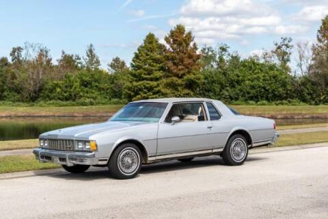 1979 Chevrolet Caprice for sale at Classic Car Deals in Cadillac MI