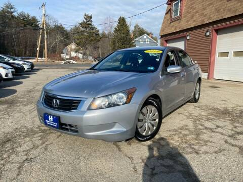 2010 Honda Accord for sale at Hornes Auto Sales LLC in Epping NH