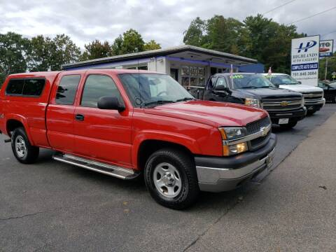 2004 Chevrolet Silverado 1500 for sale at Highlands Auto Gallery in Braintree MA