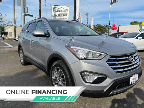 2015 Hyundai Santa Fe for sale at Salem Auto Market in Salem OR