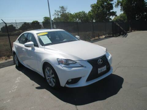 2016 Lexus IS 200t for sale at Quick Auto Sales in Modesto CA