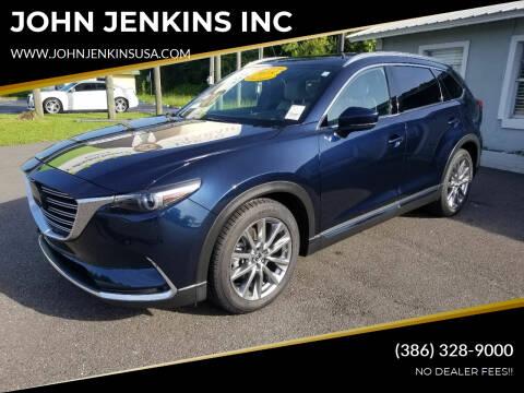 2018 Mazda CX-9 for sale at JOHN JENKINS INC in Palatka FL