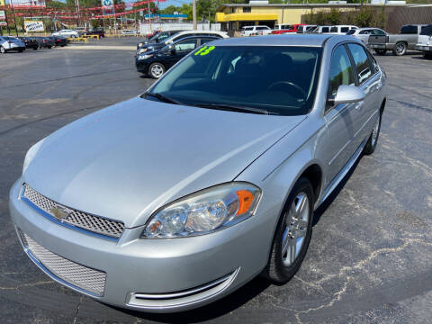 2013 Chevrolet Impala for sale at IMPALA MOTORS in Memphis TN