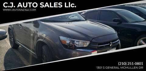 2018 Mitsubishi Outlander Sport for sale at C.J. AUTO SALES llc. in San Antonio TX