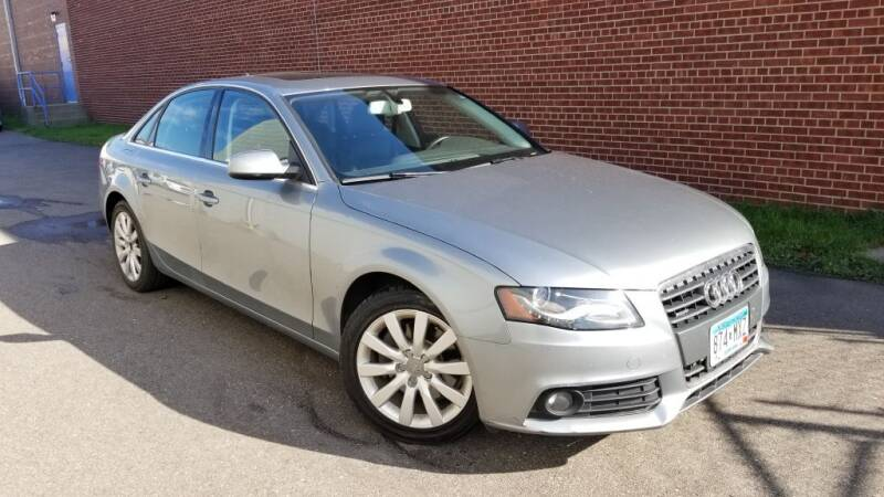 2011 Audi A4 for sale at Minnesota Auto Sales in Golden Valley MN